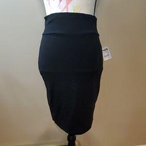 Charlotte Russe black skirt new